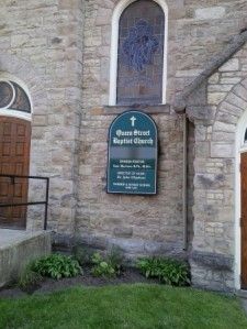queen street baptist church sunday dinners for community meals st catharines ontario canada